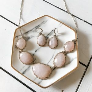 C+I Matching Necklace and Earring set